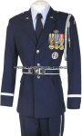 USAF HONOR GUARD OFFICER UNIFORM
