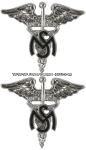U.S. ARMY MEDICAL SERVICE CORPS COLLAR DEVICES