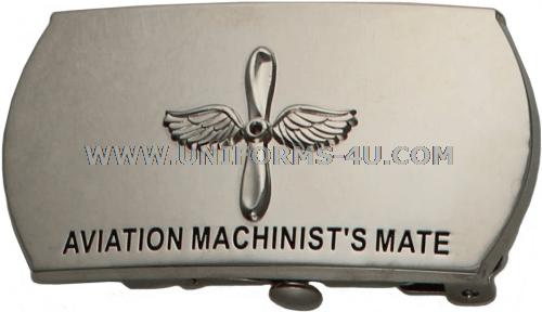 U.S. NAVY AVIATION MACHINIST'S MATE (AD) BUCKLE