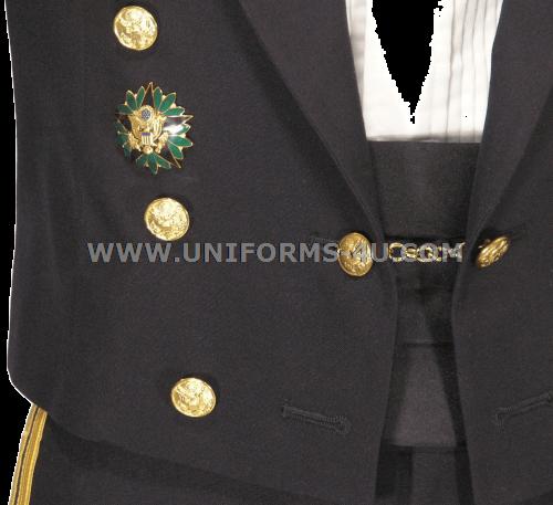Us Army General Officer Blue Mess Dress Uniform