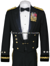 US ARMY GENERAL OFFICER BLUE MESS DRESS UNIFORM