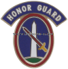 U.S. ARMY CSIB, 3RD INFANTRY REGIMENT, MILITARY DISTRICT OF WASHINGTON WITH HONOR GUARD TAB