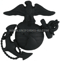 USMC OFFICER SUBDUED CAP DEVICE