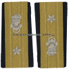 USCG rear admiral lower half enhanced shoulder boards