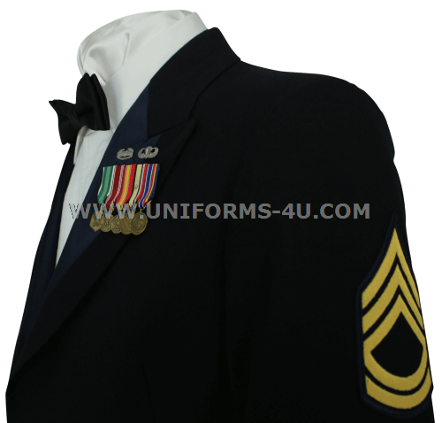 Army dress blues enlisted regulations