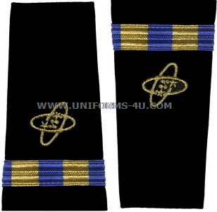 US NAVY CWO SOFT SHOULDER BOARDS ELECTRONICS TECHNICIAN