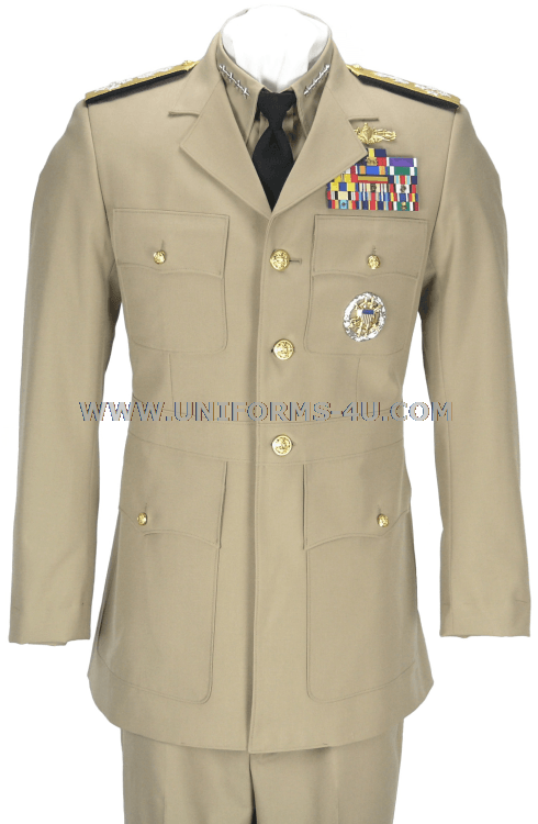 Gray uniforms in the same style as khaki were first introduced on 16 April as an officers uniform. On 3 June , the uniform was extended to include Chief Petty Officers. On 31 March cooks and stewards were permitted to wear the gray uniform. The Navy .
