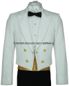 USCG DINNER DRESS WHITE JACKET