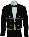usphs dinner dress blue jacket