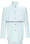 usphs service dress white coat