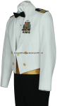 U.S. COAST GUARD MALE DINNER DRESS WHITE JACKET UNIFORM