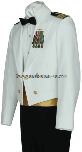 us coast guard Officer dinner dress white (DDW) jacket uniform