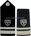 COAST GUARD AUXILIARY FLOTILLA VICE COMMANDER HARD/ENHANCED SHOULDER BOARDS