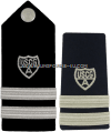 COAST GUARD AUXILIARY FLOTILLA COMMANDER HARD/ENHANCED SHOULDER BOARDS