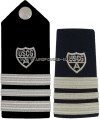 COAST GUARD AUXILIARY DIVISION VICE COMMANDER HARD/ENHANCED SHOULDER BOARDS