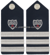 USCG AUXILIARY HARD SHOULDER BOARDS DISTR. DIRECTORATE OFFICER (DDO) -AUX. SECT. COORDINATOR (ASC)