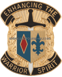 U.S. ARMY 1ST MANEUVER ENHANCEMENT BRIGADE UNIT CREST