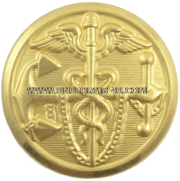 USPHS COMMISSIONED CORPS GILT DRESS BUTTONS