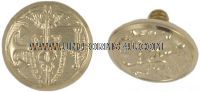 USPHS COMMISSIONED CORPS SCREW CAP BUTTONS FOR COMBINATION CAP