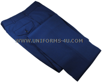 USMC MALE ENLISTED BLUE DRESS TROUSERS