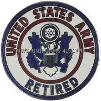 UNITED STATES ARMY RETIRED SERVICE ID BADGE
