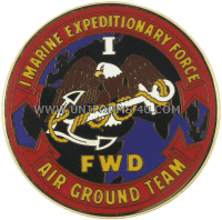 U.S. ARMY CSIB, 1ST MARINE EXPEDITIONARY FORCE