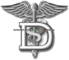 USCG Dental Technician (DT) Rating Badge