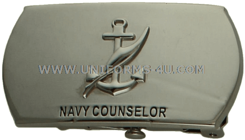 U.S. NAVY NAVY COUNSELOR (NC) BUCKLE