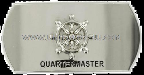 us navy quartermaster qm buckle