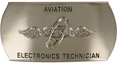 U.S. NAVY AVIATION ELECTRONICS TECHNICIAN (AT) BUCKLE