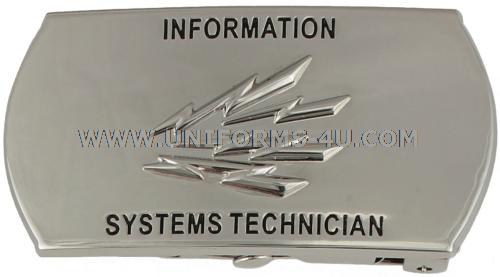 U.S. NAVY INFORMATION SYSTEMS TECHNICIAN (IT) BUCKLE
