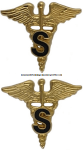 U.S. ARMY MEDICAL SPECIALIST CORPS COLLAR DEVICES