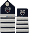 COAST GUARD AUXILIARY DEPUTY ASSISTANT NATIONAL COMMODORE HARD/ENHANCED SHOULDER BOARDS