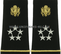 US ARMY GENERAL OF THE ARMY EPAULETS