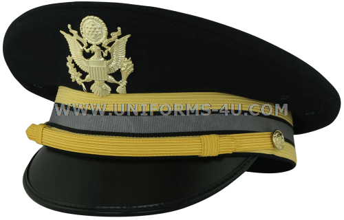 08e083510c5 U.S. ARMY SERVICE CAP FOR COMPANY GRADE CYBER CORPS OFFICERS. us army asu  cyber warfare dress blue cg cap