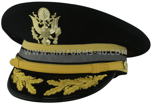 5e2f74c24ac U.S. ARMY SERVICE CAP FOR FIELD GRADE CYBER CORPS OFFICERS. us army asu  cyber warfare dress blue fg bullion cap