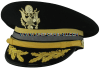 U.S. ARMY SERVICE CAP FOR FIELD GRADE CYBER CORPS OFFICERS