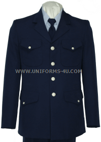 us coast guard auxiliary service dress blue jacket