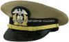 us merchant marine officer khaki hat
