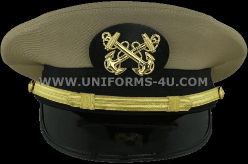US NAVY WARRANT OFFICER 1 KHAKI HAT
