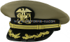 U.S. PUBLIC HEALTH SERVICE DIRECTOR AND SENIOR GRADE OFFICER COMBINATION CAP