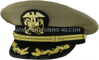 us public health service captain - commander khaki hat
