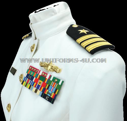 us navy female officer service dress white uniform