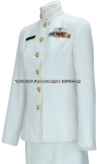 us navy cpo service dress white (sdw) female uniform