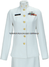 U.S. NAVY FEMALE CHIEF PETTY OFFICER SERVICE DRESS WHITE UNIFORM