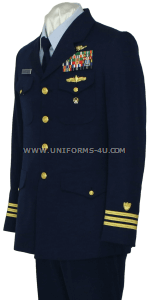 US COAST GUARD SERVICE DRESS BLUE (SDB) OFFICER UNIFORM