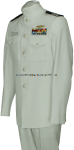 U.S. COAST GUARD AUXILIARY MEN'S SERVICE DRESS WHITE UNIFORM