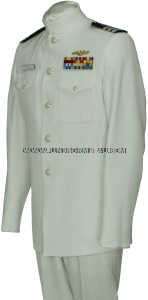 US COAST GUARD AUXILIARY SERVICE DRESS WHITE UNIFORM