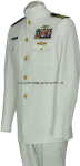 US COAST GUARD SERVICE DRESS WHITE (SDW) OFFICER UNIFORM