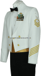 U.S. COAST GUARD ENLISTED / CPO DINNER DRESS WHITE JACKET UNIFORM